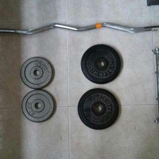Ezy Bar Plus Weight