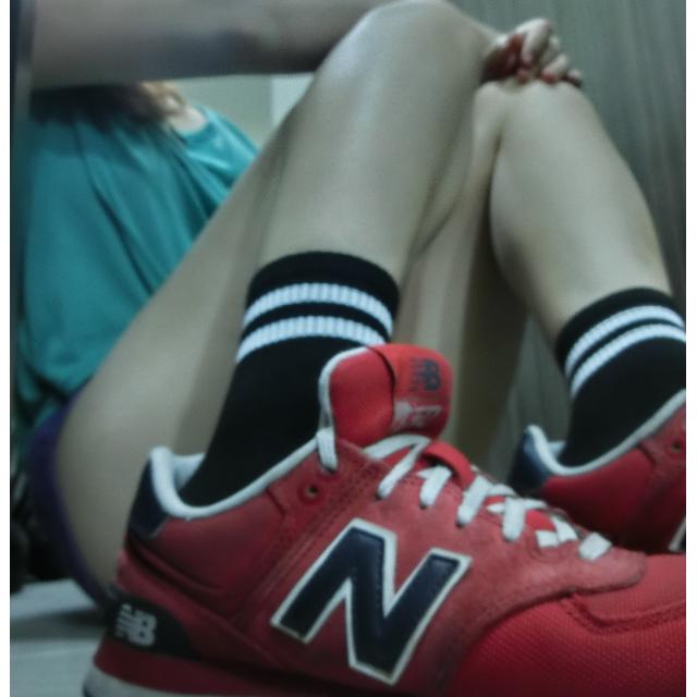(3雙免運)韓系女孩足球襪
