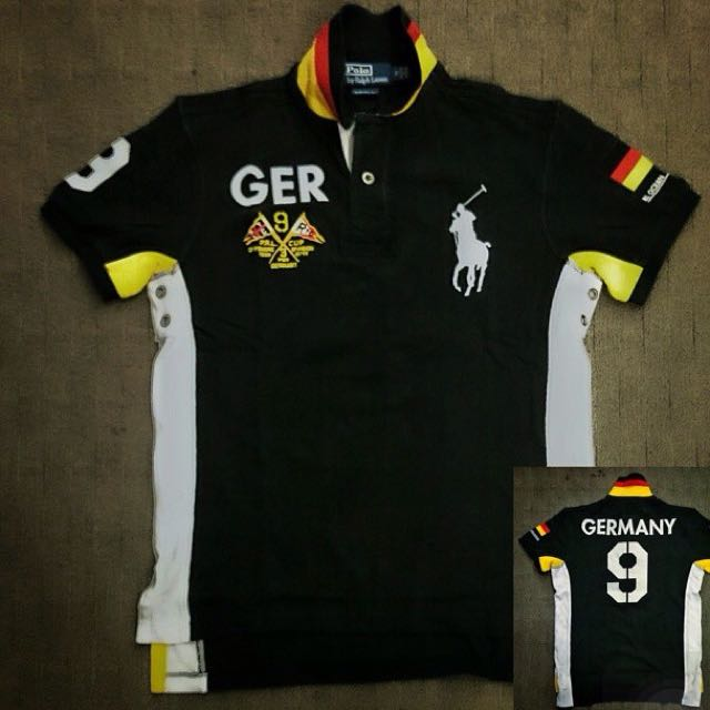 Polo Lauren For Bross Back Ralph Germany Shirt Authentic Home The Bring To vN0wOn8m