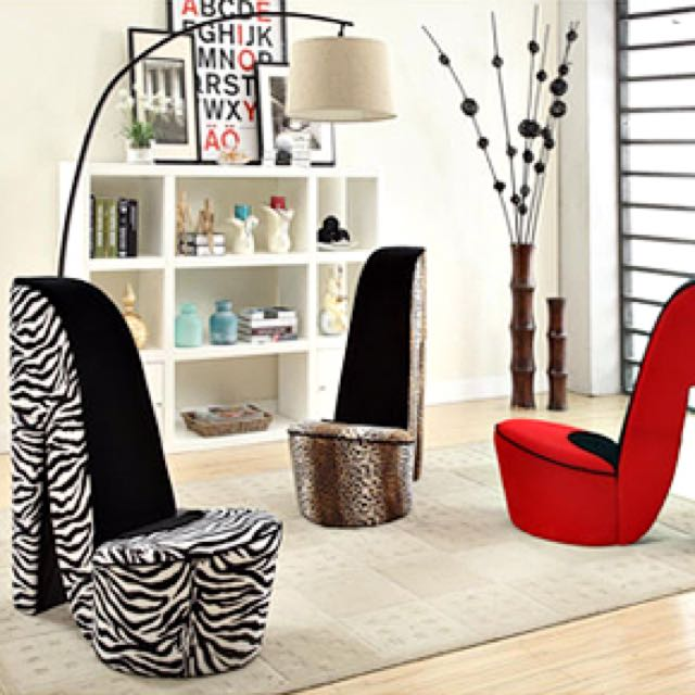High Heel Sofa Chair Instock Available 4 Colours Furniture On Carou