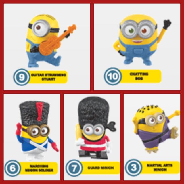 McD Happy Meal Minion Summer 2015 Ecer