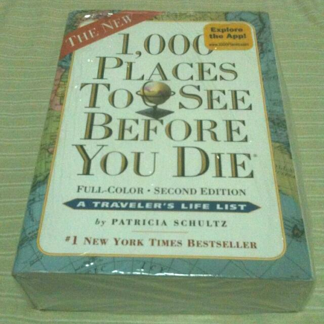 1000 Places To See Before You Die Books Stationery On Carousell