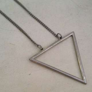 { pending } Tumblr triangle necklace