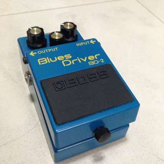 (Reserved) BOSS BD-2 Blues Driver