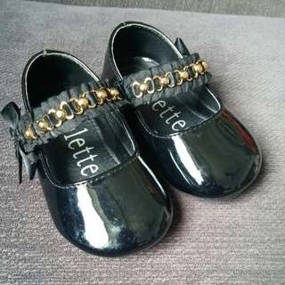 Colettee Black Patent Shoes