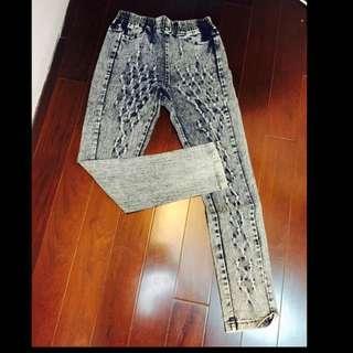 刷色牛仔褲