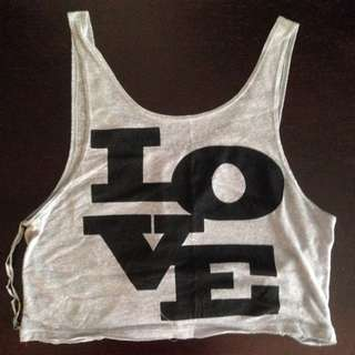 Aeropostale Cropped Tank Top