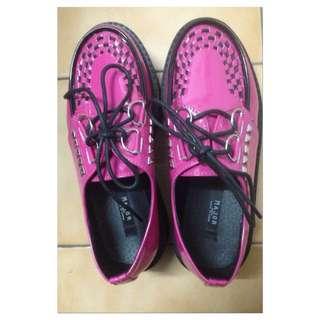 Major Made 桃紅色龐克鞋 尺寸36號