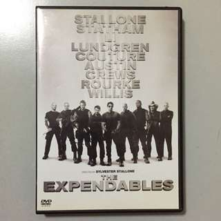 (Reserved )The Expendables DVD Starring Sylvester Stallone