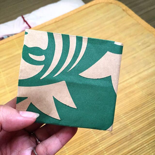 星巴克自製皮夾