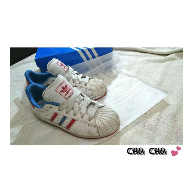 (保留)Adidas 板鞋 附鞋盒 保證正品✨
