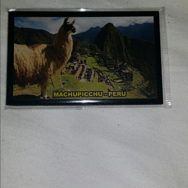 Brand New-Machu Picchu (Peru) Magnet