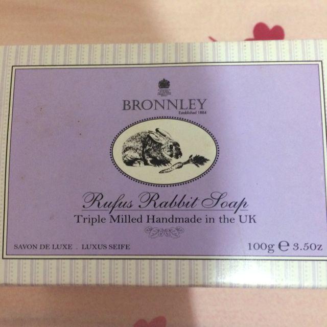 Bronnley御香坊-兔子造型皂