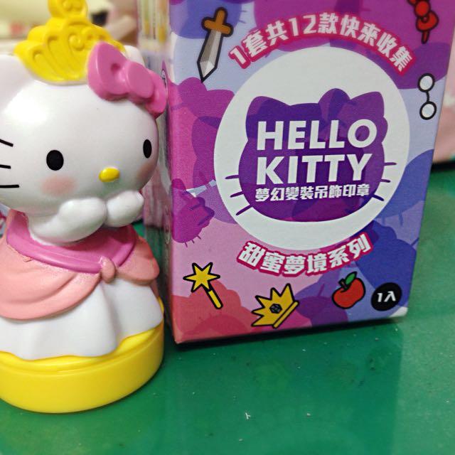 Hello Kitty 變裝吊飾印章
