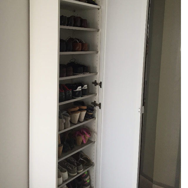Ikea Pax Shoe Rack With Gl Door Best Offer Home