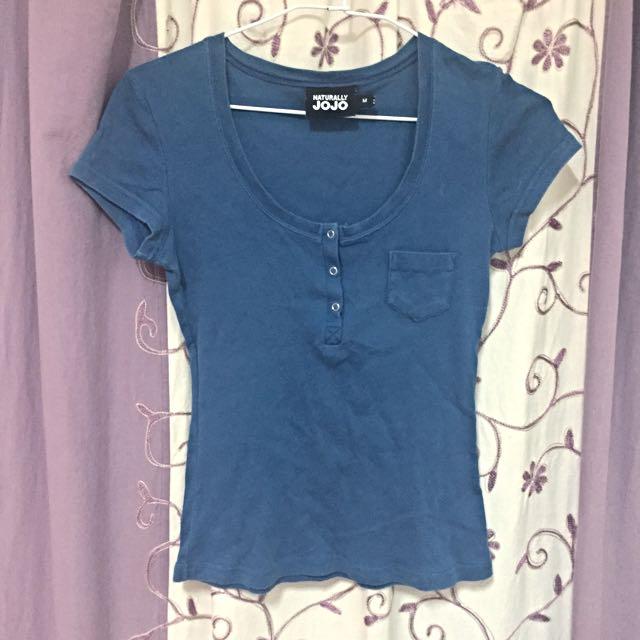 JOJO深藍T恤💙