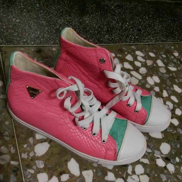 Joyrich配色帆布鞋