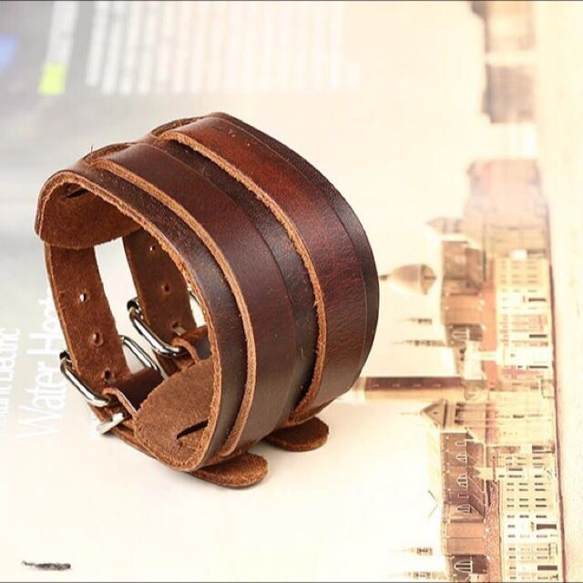 Pure Leather Bracelet