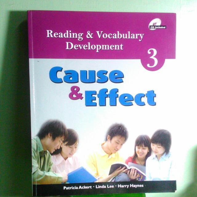 Reading & Vocabulary Development 3 〔Cause& Effect〕