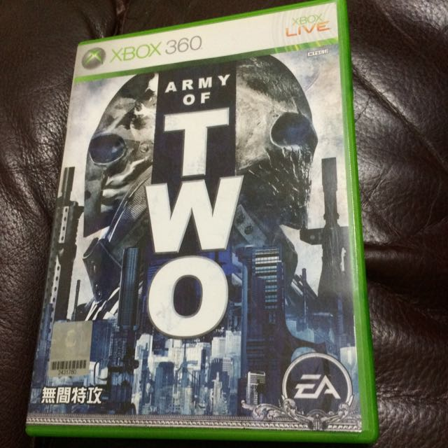 XBOX360 ARMY OF TWO無間特工