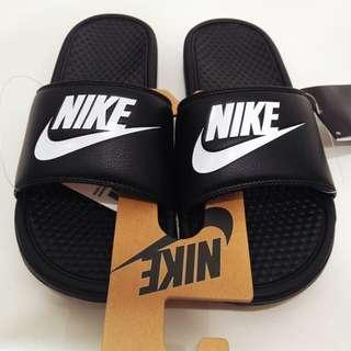 正品nike黑色拖鞋