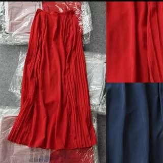 大紅色長裙 Mongo 40碼