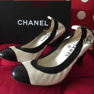 CHANEL - Limited Edition Collectors Heels In Lambskin