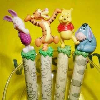 迪士尼Disney 小熊維尼Winnie the Pooh 立體公仔防滑原子筆