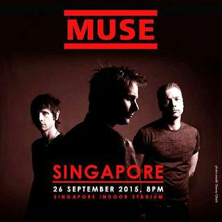 1x muse Standing Ticket