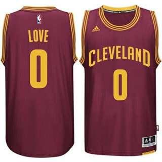 Kevin Love 2015 騎士隊一般客場球衣