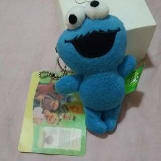 Cookie Monster Key Ring Soft Toy