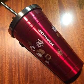 🚚 星巴克 馬克杯 聖誕系列—星冰樂隨行杯 特價品