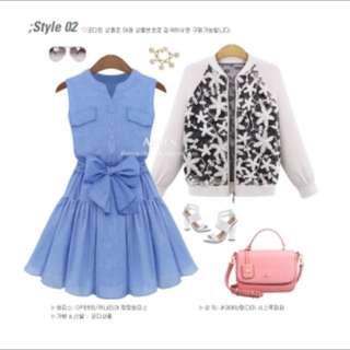 海螺藍 洋裝