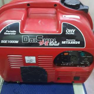 Pre loved Mitsubishi Gasoline Generator