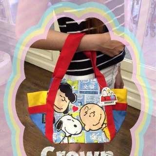 Snoopy休閒帆布包
