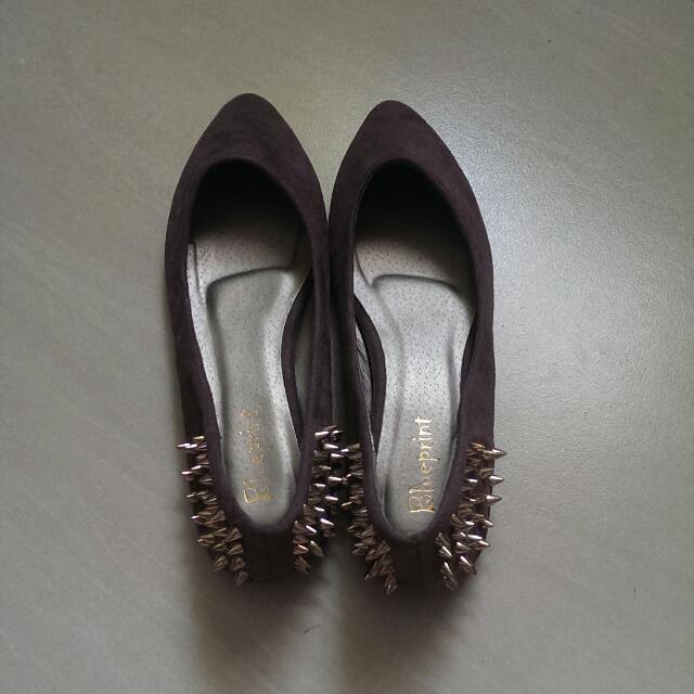 龐克風平底鞋/23.5