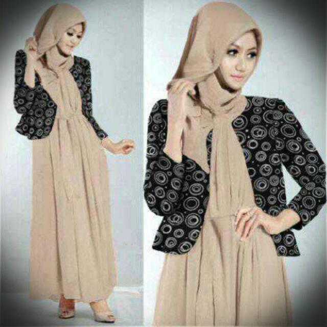 3 IN 1 Hijabi Brown 19