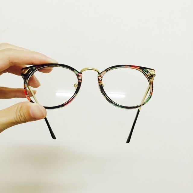琥珀色眼鏡