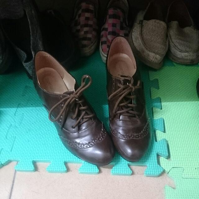 粗根牛津鞋