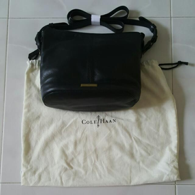 115e12181a Authentic COLE HAAN cross-body Handbag, Women's Fashion on Carousell