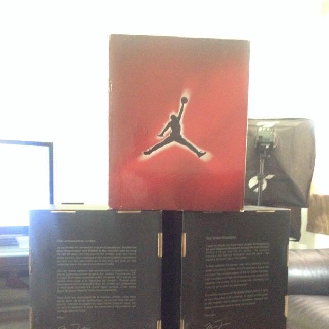 a7c1bc994dad collectors item Air Jordan collezione 19 4 empty box