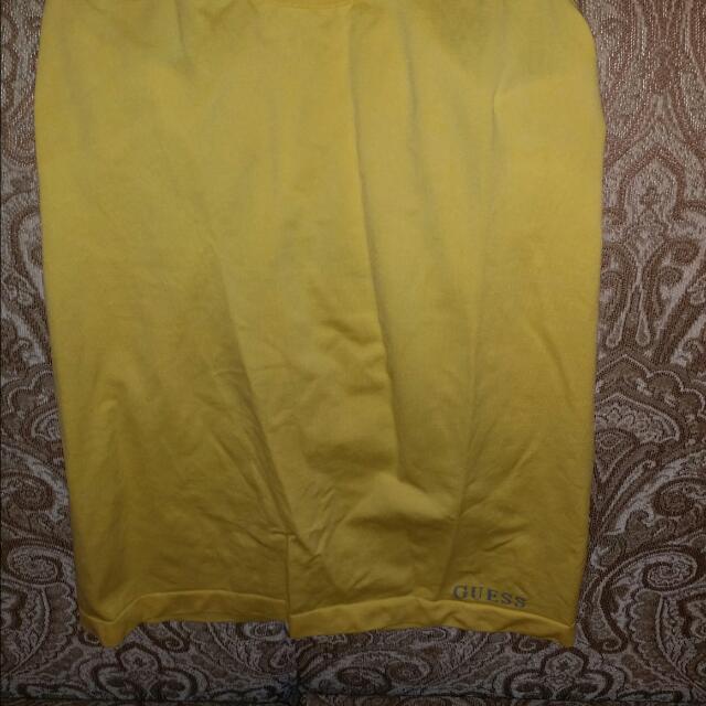 'Guess'-Yellow Tank Top
