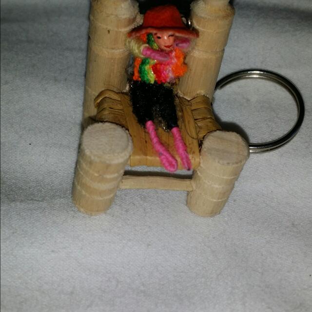Miniature Chair-Lima-Peru Key Chain