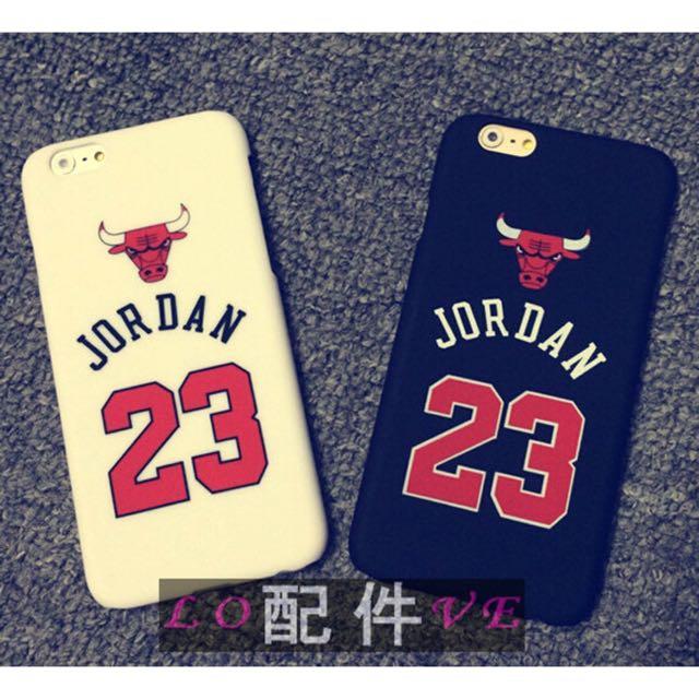 NBA 籃球公牛 Jordan 23號 手機殼