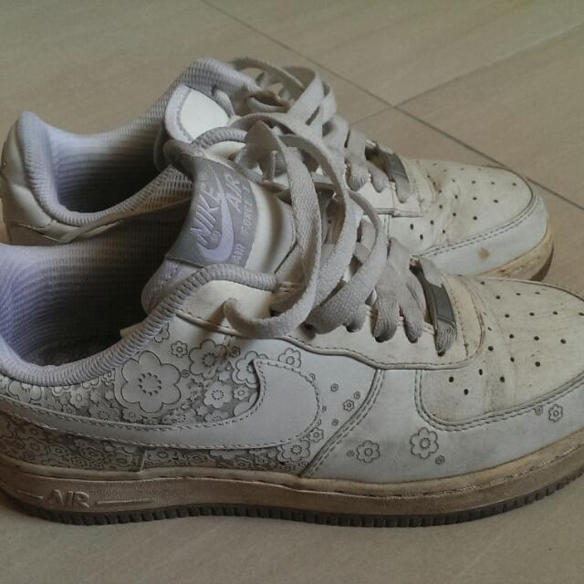 NIKE運動休閒鞋/37