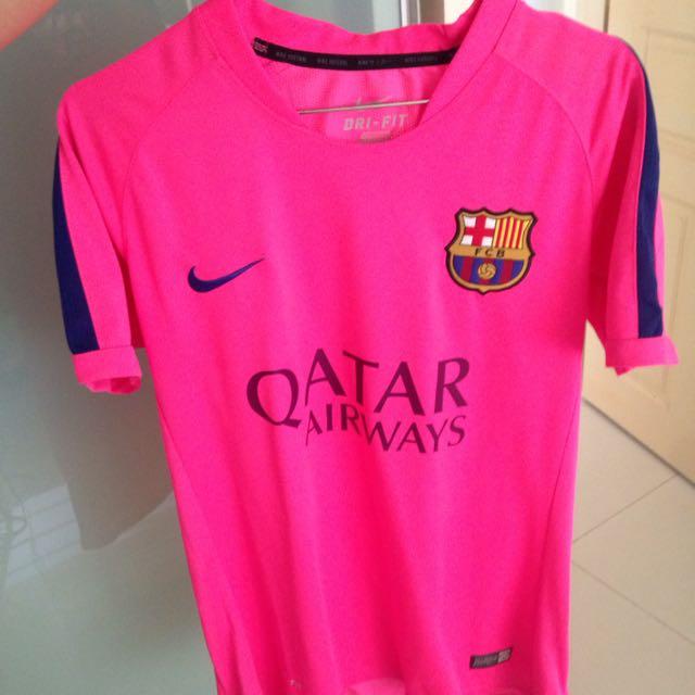 half off 91669 d002a Size XS Barcelona Training Jersey Barca Baca Football Jersey ...