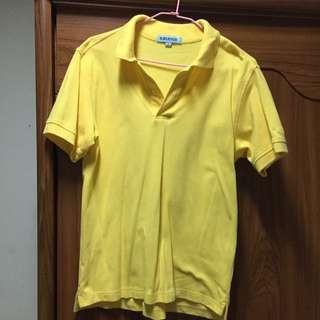 Baleno黃色polo衫