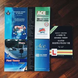 Basic and Advance theory driving books