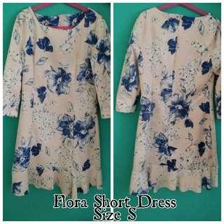 Flora Short Dress