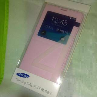 BNIB Genuine Samsung Note 4 S View Cover Padding Pink